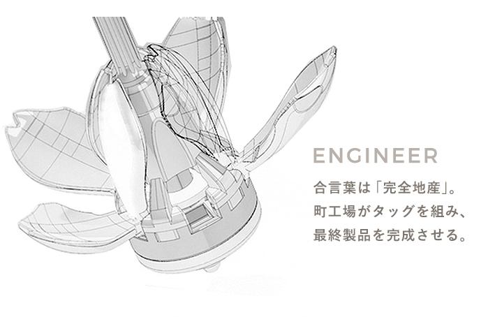 ENGINEER 合言葉は「完全地産」。待ち工場がタッグを組み、最終製品を完成させる。